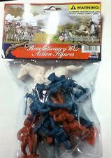 AMERICAN REVOLUTIONARY WAR TOY SOLDIER ACTION FIGURE SET NEW
