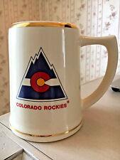 Vintage Colorado Rookies Mug Stein Lewis Bros. Ceramics