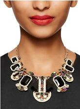 Kate Spade Art Deco Necklace NWT Amazing Design & Intricate Gems! MSRP$415 w Tax