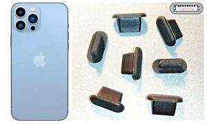 7x cache bouchon anti-poussière entrée charge iPhone 13 / 13 Mini / 13 Pro Max