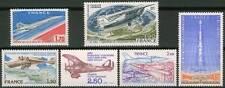 Poste Aérienne PA n° 49 à 54 ** de 1976 à 1981 NEUFS - LUXE