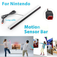 10pcs Wired Remote Motion Sensor Bar IR Infrared Ray Inductor for Nintendo Wii U