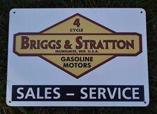 Briggs & Stratton 4Cycle Gasoline Motor Sales SIGN Lawn Mower Repair Shop