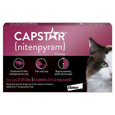 Capstar Fast-Acting Oral Flea Treatment for Cats 6 Doses