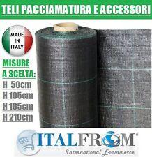 Teli Pacciamatura Pacciamante Nero Antiradice Antistrappo MT 20X1,65H Italfrom