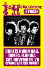 Jimi Hendrix Replica 1968 Concert Poster