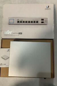 Ubiquiti Networks US-8-150W UniFi 8-Channel Managed PoE+ Gigabit Switch