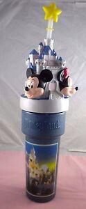 Disneyland Mickey Minnie Mouse Goofy Disney Tall Large Water Bottle Tumbler