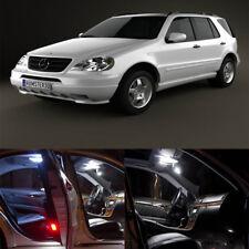 13×white LED light Interior kit for Mercedes Benz M class W 163 (2000-2005)