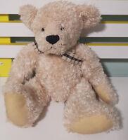 RUSS BERRIE ELIZABETH TEDDY BEAR PLUSH TOY! SOFT TOY ABOUT 35CM KIDS TOY! CREAM