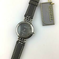 OROLOGIO BREIL CLARIDGE QUARZO DONNA 25MM ETA SWISS MADE NEW OLD STOCK PELLE