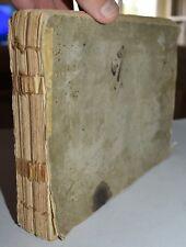 SCRITTORE DI LETTERE - ediz. 1796 -  COMMERCIO - TRE LINGUE - Livorno - raro