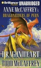 DRAGONHEART unabridged audio book CD by ANNE McCAFFREY - Brand New 17 CDs 20 Hrs