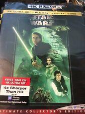 New / Sealed Star Wars: Return Of The Jedi (4K Hd, Blu-ray + Digital) no slip
