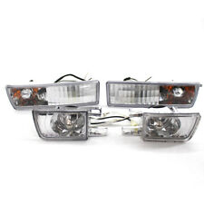 Bumper Clear TDI Fog Lamp Signal Lights for VW Jetta Golf MK3 93-98 95 New