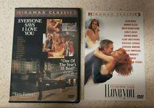 Everyone Says I Love you DVD RARE OOP! Allen, Alda, Hawn, Norton, Roberts. R1 US
