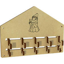 'Winter Ghost' Wall Mounted Coat Hooks / Rack (WH00046994)