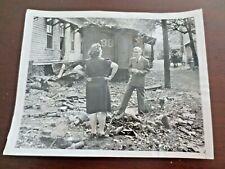 1947 Atlanta Major Slum Clearance Project World Press Reporter Photograph GA