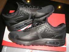 NIKE AIR MAX ZERO ESSENTIAL ALL BLACK UK 7 EU 41 BRND NEW/BOX MODEL 876070 006