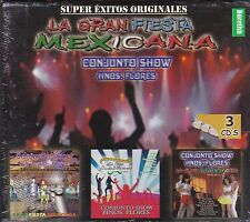 Conjunto Hermanos Flores,Conjunto Show Hermanos Flores Box set 3CD New Nuevo Sea