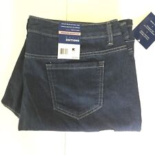 Basic Editions Jeans 18 Short Stretch Modern Boot Cut Narrow Leg Denim 40x30 New