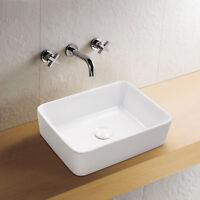 Aufsatz Keramik Waschbecken Soho Brillant Weiß 48 cm Handwaschbecken Badezimmer