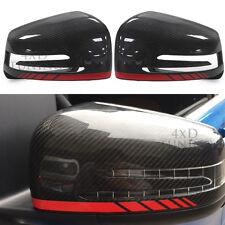 Mirror Trim For Mercedes W166 GLE W463 G350 X166 GL400 GLS ML G AMG Carbon Fiber