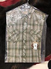 Mens Resistol Double R Mossberg Plaid Long Sleeve Shirt