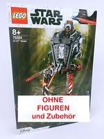 75254 LEGO Star Wars, AT-ST-Räuber, 1x aufgebaut mit OVP OHNE FIGUREN