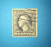 RARE 1918 George Washington GRAY 3 Cent U.S. Postage Stamp
