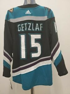 New Anaheim DUCKS Ryan Getzlaf Mens Adidas Jersey Black Size (54) XL $225