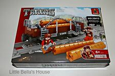 Ausini TRAINS Set #25413 Building Block Toy 150pcs city,log car (lego compatible