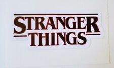 Stranger Things Sticker decal car laptop scrapbook