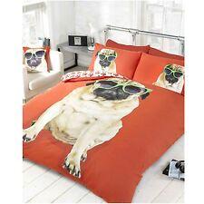 Percy Pug doppio set copripiumino NUOVO RED DOG cucciolo lettiera