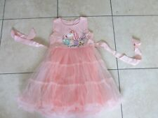 GIRLS DRESS AGE 5-6-7-8 Unicorn Disney Princess Birthday party sundress Easter