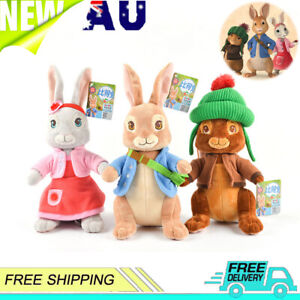 Peter Rabbit Characters Movie Benjamin Bunny Peter or Lily Soft Animal Plush Toy