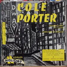 COLE PORTER PAR JACQUES LASRY/DI MACCIO FRENCH EP HOLIDAY 1962