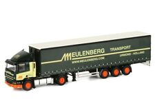 Meulenberg DAF CF85 Tractor Truck with Curtainsider Trailer WSI 1:50 9258