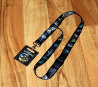Kingdom Hearts III 3 Rare Lanyard And BUTTON BADGE Gamescom 2018 E3 PS4 Xbox One