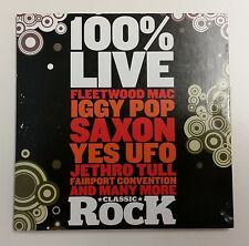 Classic Rock - 100% Live Promo CD - Near Excellent Condition - Tested