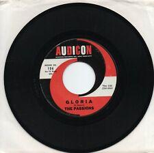 The Passions  Gloria   on  Audicon     Original  45  VG++