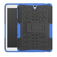 Hybrid Outdoor Schutzhülle Blau für Samsung Galaxy Tab S3 9.7 T820 T825 Tasche