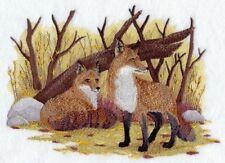 Embroidered Ladies Fleece Jacket - Fox Pair D2250 Sizes S - Xxl