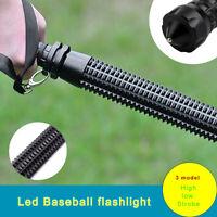 Emergency  Super Bright Torch Baseball Bat LED Flashlight Tactical Torch Lamp MN