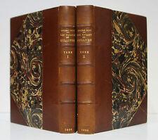 Jonathan SWIFT Les Voyages de Gulliver. 2 vol. 1930. Ex. numéroté Reliure signée