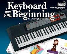 TASTIERA dall'inizio impara a suonare facile Musica Bambini Libro & DOWNLOAD CARD