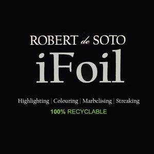 Robert De Soto iFoil Professional 100% RECYCLING Hair Colouring Aluminium Foil