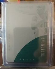 Gerald Henderson 2015 Immaculate 1/1 Printing Plate Cyan Charlotte Bobcats SP!
