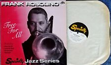 FRANK ROSOLINO - FREE FOR ALL - SPECIALTY JAZZ SERIES - 1986 LP