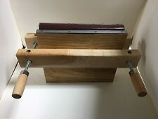 Wooden book press, Laying Press, Finishing Press, with boards